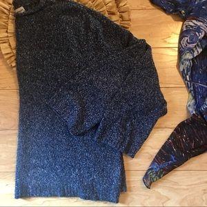 Plus Size Designer Original Blue Sweater Size 2XL